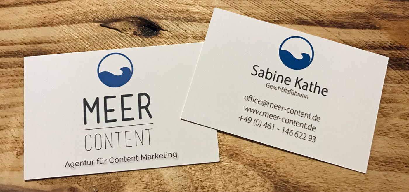 Kontakt Meer-Content Sabine Kathe Flensburg